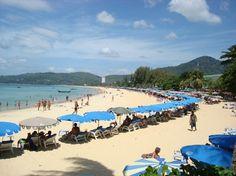 Karon Beach in front of Karon Beach Resort and Spa (Phuket, Thailand)