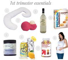 1st Trimester Pregnancy Essentials