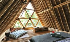 Adventurous travelers looking to go way off grid will find respite in this beautiful all-bamboo haven - the Hideaway Bali - located deep into Bali's mountainous region of Gunung Agung.