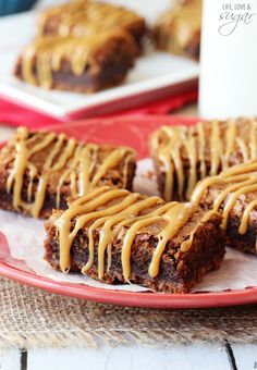 Pretzel Caramel Nutella Brownies