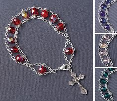 how to make a jacob's ladder rosary - Google Search