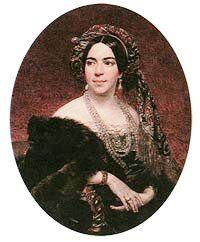 Княгиня З. А. Волконская, ур.ур.Белосельская-Белозерская(1789- 1862)
