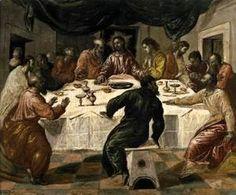 El Greco - The Last Supper c. 1568