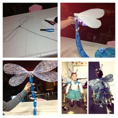 this only links to pics but they give you enough of an idea of how & Dragonfly costume! | Kids | Pinterest | Dragonflies Costumes and ...