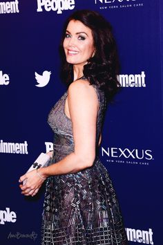 Bellamy Young @ the EW and People Magazine party for the New York Upfronts