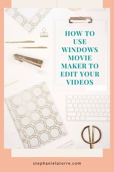 This week I am showing you how to use windows movie maker to edit your videos!