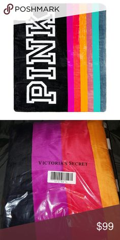 New Victoria's Secret PINK SHERPA BLANKET New in package Victoria's Secret PINK Sherpa blanket. Very thick Blanket great for winter! Bundle and save with my other listings XoXo PINK Victoria's Secret Accessories
