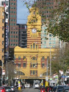 Flinders Street Station and Flinders Street seen from Elizabeth Street… Wonderful Places, Great Places, Places To See, Beautiful Places, Melbourne Victoria, Victoria Australia, Australia Living, Australia Travel, Places In Melbourne