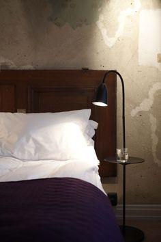 Arkipelag floor lamp with table by Niclas Hoflin for Rubn.