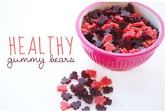 Headed to the store to get everything to make this. I cant wait. Healthy Gummy Bears | Little Gatherer