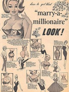 Get that 'How to Marry a Millionaire' look ;)