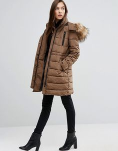 Browse online for the newest New Look Lincoln Borg Padded Coat styles. Shop easier with ASOS' multiple payments and return options (Ts&Cs apply). Berlin Christmas, New Chic, New Look, Fashion Online, Asos, Winter Jackets, Coat, Lincoln, Casual