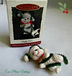 Christmas Ornament 1994 Hallmark Cards by EauPleineVintage on Etsy