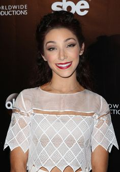 Meryl Davis at the DWTS 10th year party, April 21, 2015