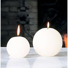 Round Candles, Unique Candles, Best Candles, Diy Candles, Decorative Candles, Homemade Candles, Beautiful Candles, White Candles, Candle Art