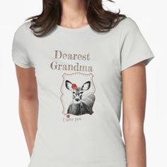 Dear Nana T-shirt - from the matching Deer Family Set Deer Family, Family Set, Nana T Shirts, Classic T Shirts, T Shirts For Women, My Love, Mens Tops, Stuff To Buy, My Boo