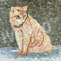 Mosaik AN360 Katze