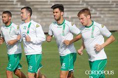 Rossi, Garai, Fede y Gunino, esta mañana en la Ciudad Deportiva | ÁLVARO CARMONA