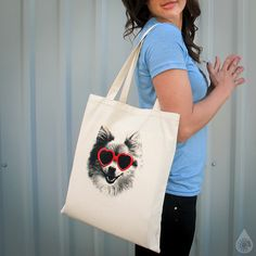Fun & comical dog lovers totes and t-shirts. Go to http://www.hotlineink.com/