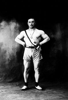 1928 Olympic Games, Amsterdam: Roger Francois, weightlifter