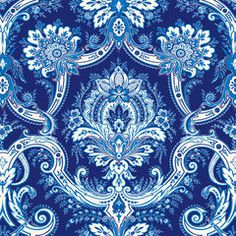 would this work to ocver diahwasher Anna Griffin - Willow Collection - 12 x 12 Flocked Paper - Blue Damask Blue And White China, Blue China, Love Blue, Chinoiserie, Deco Floral, Anna Griffin, Textiles, Surface Pattern Design, Pattern Designs