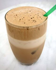 How to make the Best Greek Frappe coffee (Iced coffee) - My Greek Dish Coffee Milk, Iced Coffee, Frappe Coffee Recipe, How To Makw, Milkshake Machine, Greek Dishes, Milk Cans, Refreshing Drinks, Greek Recipes