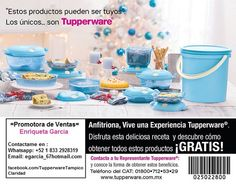 Quieres comprar o vender Tupperware en Tampico ,Altamira, Madero o Norte de Veracruz, Contactame visita https://www.facebook.com/TupperwareTampicoClaridad