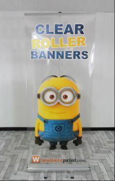 Clear roller banner unit!