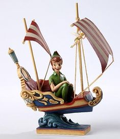 Peter Pan Sculpture by Artist Jim Shore, Making an Appearance at Disneyland Resort in the Coming Months