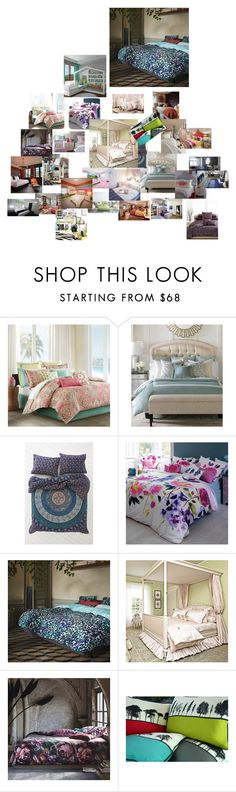 """""""Untitled #175"""" by cupcakekisss on Polyvore featuring interior, interiors, interior design, home, home decor, interior decorating, Echo, Barclay Butera, Magical Thinking and Bluebellgray"""