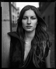 """Gisele Bündchen,"" Brooklyn, New York, 1999. by Peter Lindbergh"