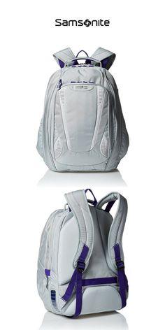 69ecd796948 Samsonite Vizair 2 Laptop Backpack | Silver Purple | Click for More  Samsonite Backpacks! Travel