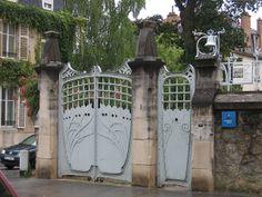 Villa Majorelle ou Villa Jika, 1 rue Louis Majorelle, Nancy (54) – Architecte Henri Sauvage assisté de Lucien --Weissenburger, 1902--Photo by Yvette Gauthier