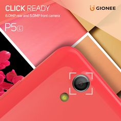 Now, always be ready to capture amazing shots with the 8.0 MP camera of the all new P5L. #ColourYourLife Know more about the device -http://gionee.co.in/smartphones/P5L/