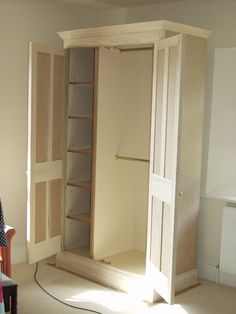 shoe storage/jacket closet for entryway | traditional entry by Britannia Joinery