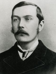 Sir Arthur Conan Doyle was a Scottish physician and writer best known for penning stories about the detective Sherlock Holmes. Is it a coincidence he looks like Jude Law, one of the future Watsons. Sir Arthur, Arthur Conan Doyle, Book Writer, Book Authors, Books, Detective Sherlock Holmes, Jeremy Brett, People Of Interest, John Smith