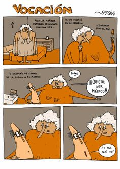 Betún de Judea - Webcomic o algo así: Vocación