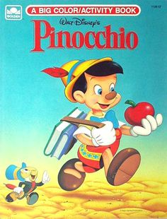Pinocchio Coloring Activity Book