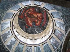 José Clemente Orozco's spectacular murals at Hospicio Cabañas. Guadalajara, #Mexico.