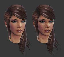 Rift: Eth Female Head by `HazardousArts on deviantART