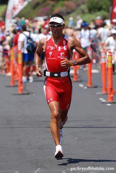 Chris McCormack. 2x Ironman Champion. I love his attitude.