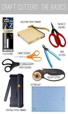 Craft Tool Guide | Paper Cutters · Scrapbooking | CraftGossip.com