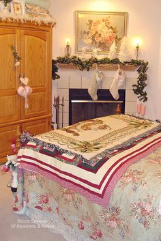 Bedroom at Christmas