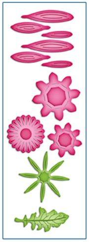 Spellbinders - Shapeabilities D-Lites dies - Create A Gerber Daisy