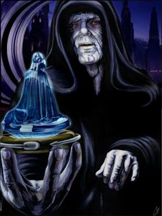 """What is thy bidding, my Master?"" /by *gattadonna #deviantart #StarWars #art"