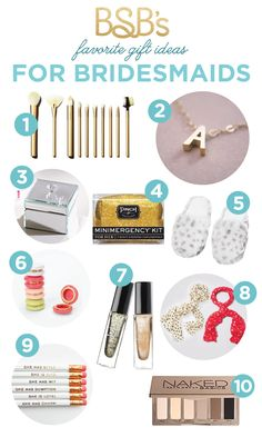 bridesmaid gift ideas on a budget - all $30 or less!