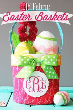 Click through for more Easter basket ideas,  they just get cuter and cuter!