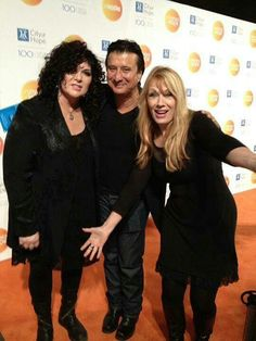 Ann & Nancy Wilson , with Steve Perry. Sometimes I think they're the reason why I feel I'm living in the wrong generation.