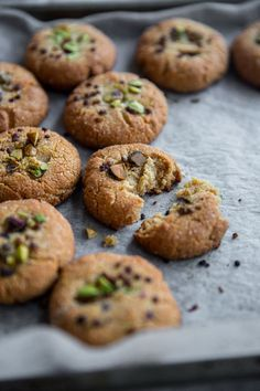 5 Ingredient Vegan Almond And Tahini Cookies
