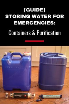 Purified and clean water is a must when camping or for survival. Learn how to purify water or get a free water purifyer. Survival Supplies, Emergency Supplies, Survival Food, Survival Prepping, Survival Skills, Survival Shelter, Urban Survival, Homestead Survival, Wilderness Survival